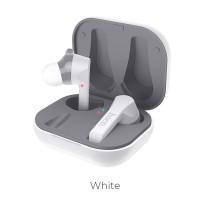 Безжични слушалки HOCO ES34 Pleasure TWS , със зареждаща кутия ,бели