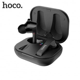 Безжични слушалки HOCO ES34 Pleasure TWS , със зареждаща кутия ,черни