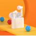 Безжични слушалки Xiaomi QCY T7 BT, бели със зареждаща кутия 5