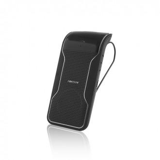 Безжично хендсфри Car Kit Forever BK-100 Bluetooth, за телефонни разговори, Черен