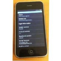 Android 2.3 Gingerbread проработи на iPhone 3G