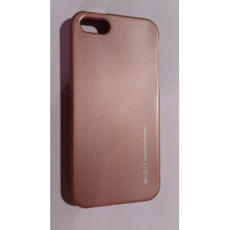 Jelly Case за iPhone 5/5S rose gold 2