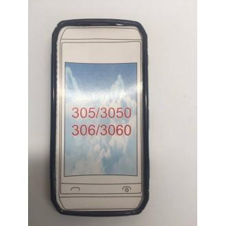 Силиконов калъф за Nokia Asha 305/306