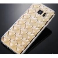 Силиконов калъф кейс за Iphone 6/6s 3D със сърца, прозрачен