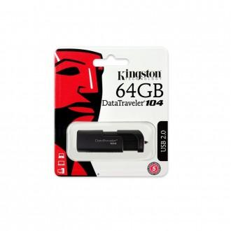Flash памет Pendrive Kingston DT104 64 GB