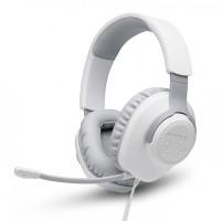 Геймърски слушалки JBL QUANTUM 100, бели