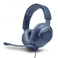 Геймърски слушалки JBL QUANTUM 100, сини