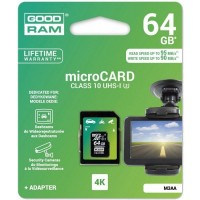 Good RAM micro SD Card 64GB class 10 4K