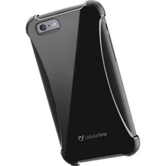 Оригинален противоудърен кейс Cellular line Hammer, двойно подсилен iPhone 6/6S черен