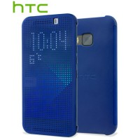 HTC Case Dot Flip HC M231 for HTC One M9 blue