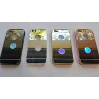 Метален бъмпер с огледален гръб за iPhone 5/5S