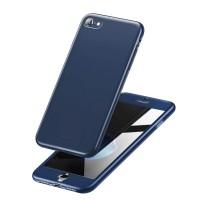 """Калъф 360"""" Baseus със стъклен протектор за iPhone 8 / iPhone 7 син"""
