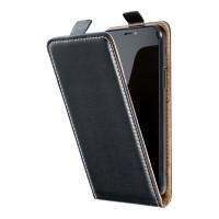 Kалъф тип тефтер Flexy Fresh за Samsung A12, черен