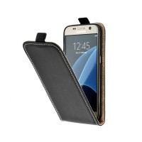 Калъф тип тефтер Flexy за Samsung i8190 S3 Mini черен