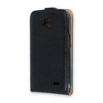 Калъф тип тефтер за Alcatel U5 5044D черен