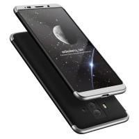 Калъф твърд кейс 360 за Huawei Mate 10 Pro ,черено-сив