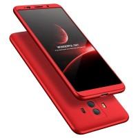 Калъф твърд кейс 360 за Huawei Mate 10 Pro ,червен