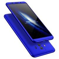 Калъф твърд кейс 360 за Huawei Mate 10 Pro ,син