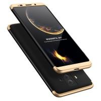 Калъф твърд кейс 360 за Huawei Mate 10 Pro ,черено-златен