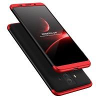 Калъф твърд кейс 360 за Huawei Mate 10 Pro,черен-червен