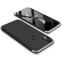 Калъф твърд кейс 360 за Huawei P20 Lite ,черен сива рамка
