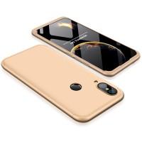 Калъф твърд кейс 360 за Huawei P20 Lite ,златен