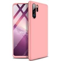 Калъф твърд кейс 360 за Huawei P30 Lite,розов