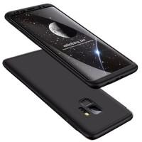 Калъф твърд кейс 360 за Samsung A70, Черен
