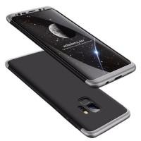 Калъф твърд кейс 360 за Samsung A70, Черен сива рамка