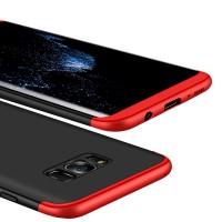 Калъф твърд кейс 360 за Samsung G935 S7 Edge ,черно-червен