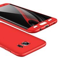 Калъф твърд кейс 360 за Samsung G935 S7 Edge ,червен
