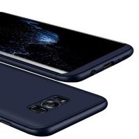 Калъф твърд кейс 360 за Samsung G950 S8 син