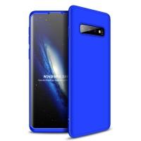 Калъф твърд кейс 360 за Samsung Galaxy S10 Plus, син