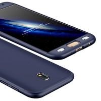 Калъф твърд кейс 360 за Samsung J530 J5 2017,син