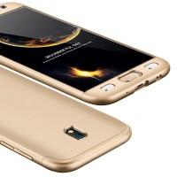 Калъф твърд кейс 360 за Samsung J530 J5 2017,златен