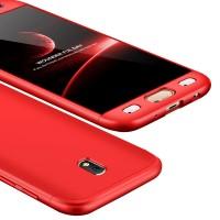 Калъф твърд кейс 360 за Samsung J730 J7 2017,червен