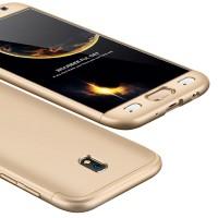 Калъф твърд кейс 360 за Samsung J730 J7 2017,златен
