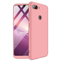 Калъф твърд кейс 360 за Xiaomi Mi 8 Lite, розов
