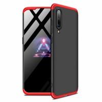 Калъф твърд кейс 360 за Xiaomi Mi A3 черен-червен