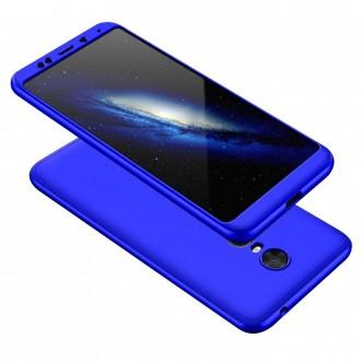 Калъф твърд кейс 360 за Xiaomi Redmi 5 Plus син