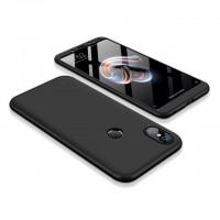 Калъф твърд кейс 360 за Xiaomi Redmi S2, черен