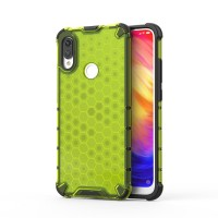 Калъф твърд кейс Honeycomb Armor with TPU Bumper за Xiaomi Redmi Note 7, зелен