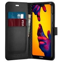 Калъф за Huawei P20 Lite Spigen Wallet S черен