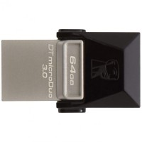 Kingston microDuo 3C pendrive (64 GB | USB 3.0/USB 3.1 + USB type-C)