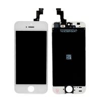 LCD дисплей и тъч скрин за iPhone 5S бял