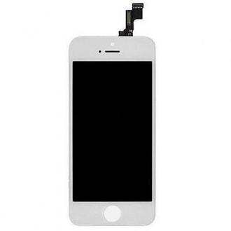LCD дисплей и тъч скрин за iPhone SE бял