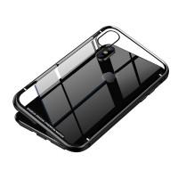 Магнитен калъф кейс 2 части Baseus (WIAPIPH65-CS01) за iPhone XS Max черен 360