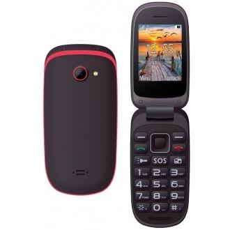 Maxcom MM818 Dual ,черен-червен