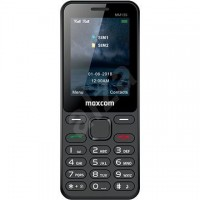 Мобилен телефон MaxCom MM139, Dual SIM, черен