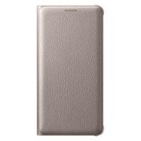 Оригинален калъф тефтер  за Samsung   Galaxy A5 (2016)  , златен